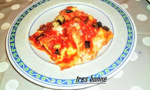 Lasagne e melanzane trifolate