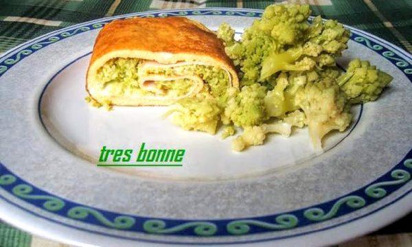 Rotolo ai broccoli romaneschi