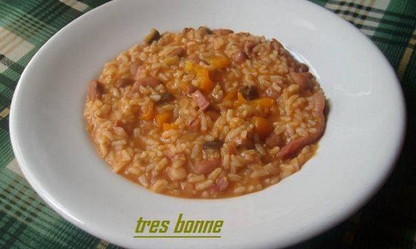 Minestra di riso ortolana