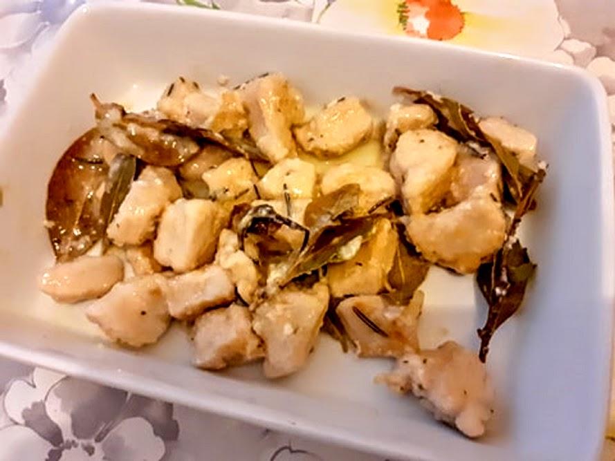 Bocconcini di petto di pollo saporiti