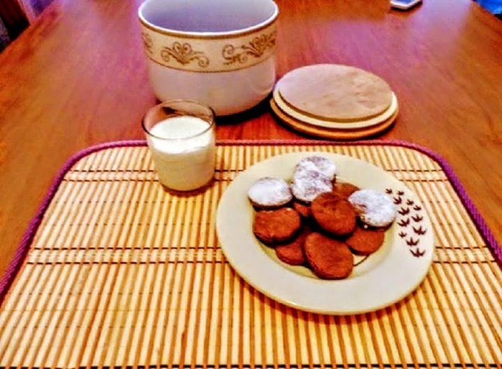 Biscotti per celiaci al cioccolato