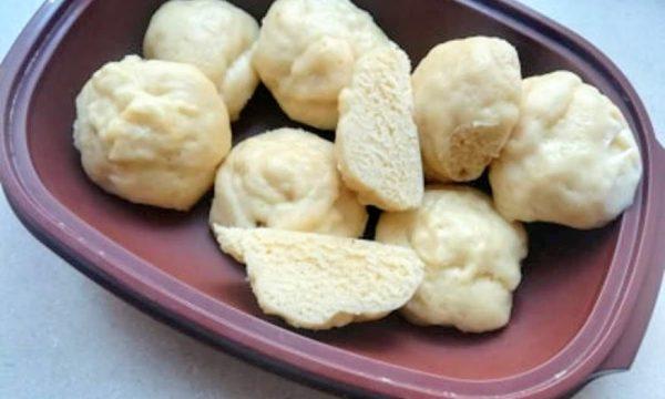 Panini al latte a vapore mantou cinesi/monsieur cuisine