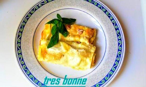 Lasagne con zucchine e fontina