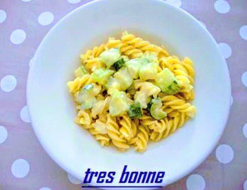 Fusilli e zucchine cremose con fontina