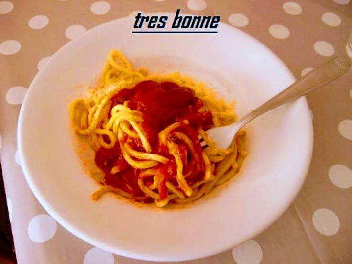 Troccoli al sugo di polpette ricetta di tradizione pugliese
