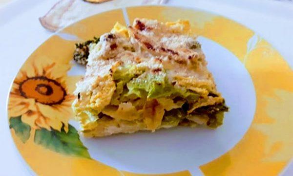 Cavolo verza gratinato al formaggio in forno ricetta golosa