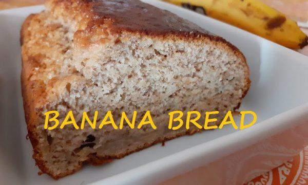 Banana bread ricetta light senza uova burro e latte