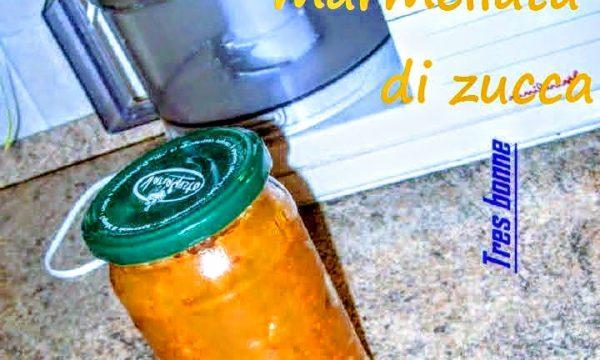 Marmellata di zucca ricetta particolare dal gusto esotico