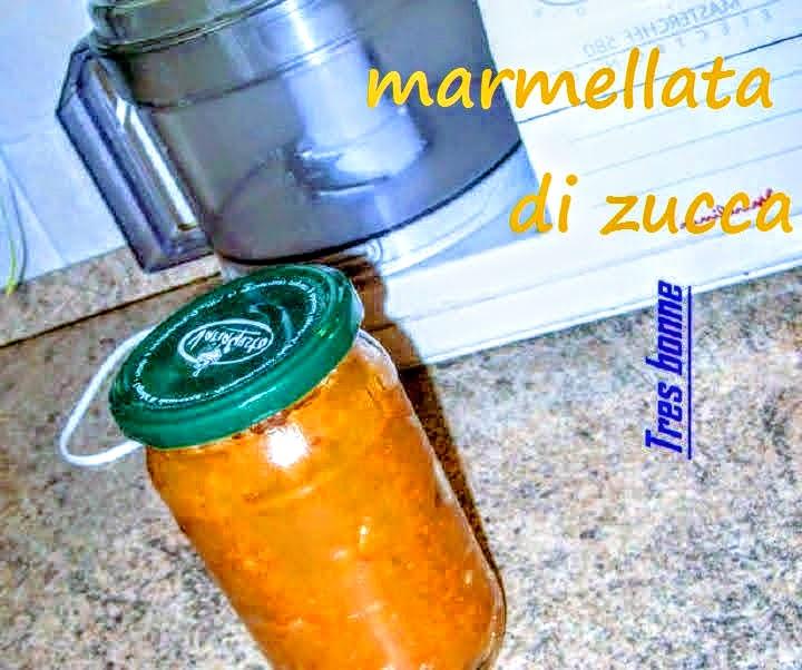 Marmellata di zucca ricetta particolare