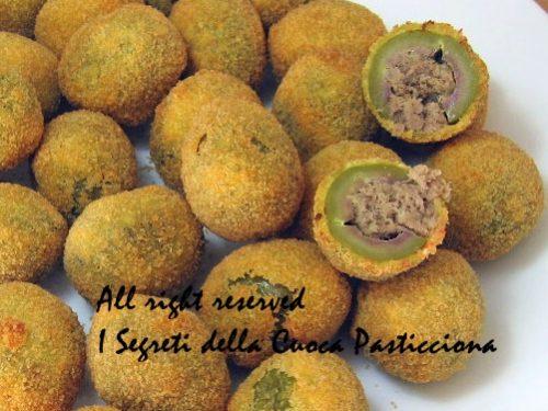 Olive ascolane, ricetta Noce Di Burro blog
