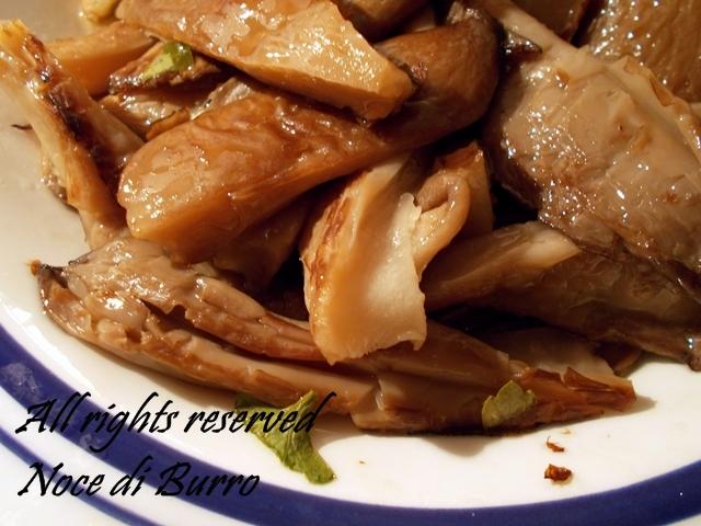 Funghi arrostiti, ricetta veloce Noce Di Burro blog