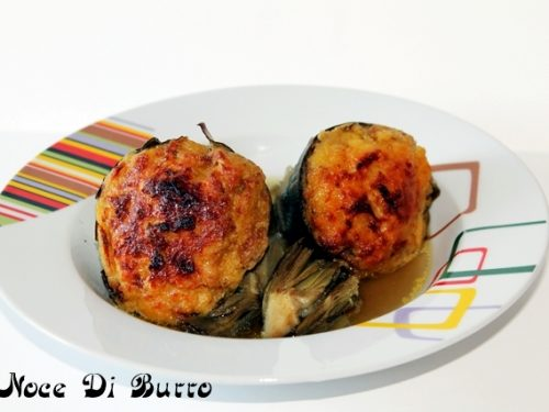 Carciofi ripieni, ricetta Noce Di Burro