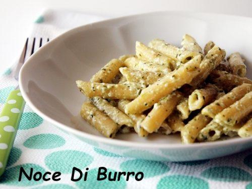 Pasta pesto lucano, ricetta Noce Di Burro