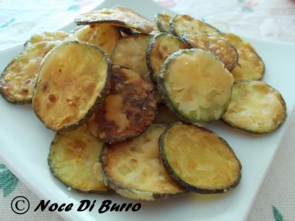 Zucchina fritta alla poverella, ricetta Noce Di Burro blog