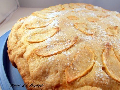 Crostata ripiena alle mele, ricetta dolce Noce Di Burro