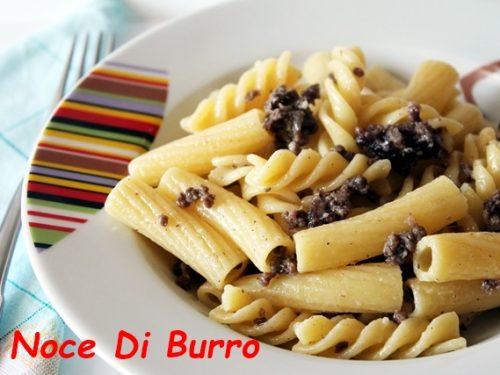 Pasta mista con tritato in bianco, ricetta Noce Di Burro