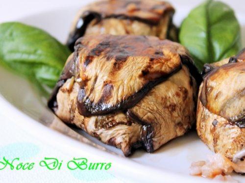 Tortino riso e melanzane, ricetta riciclo Noce Di Burro