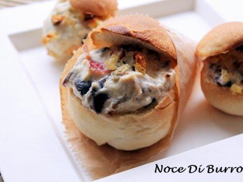 Panini ripieni al forno, ricetta Street food Noce Di Burro
