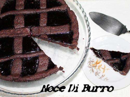 Crostata cacao e marmellata, ricetta Noce Di Burro