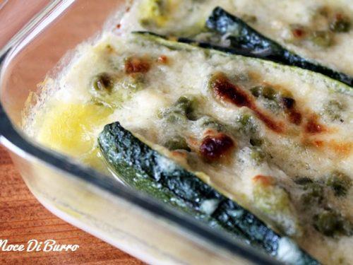 Zucchina primavera, ricetta Noce Di Burro