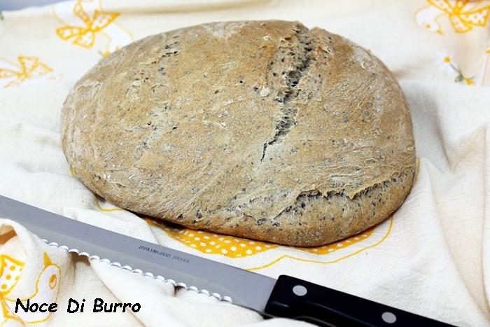 Pane alle olive lunga lievitazione
