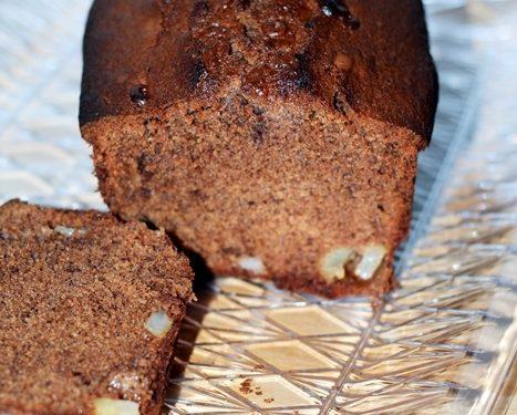 Plum cake cioccolato e pere ricetta dolce