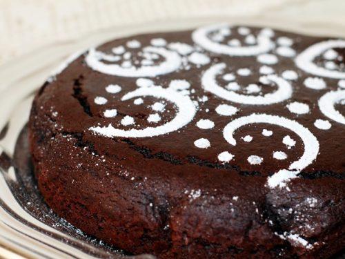 Torta al cioccolato in cinque minuti