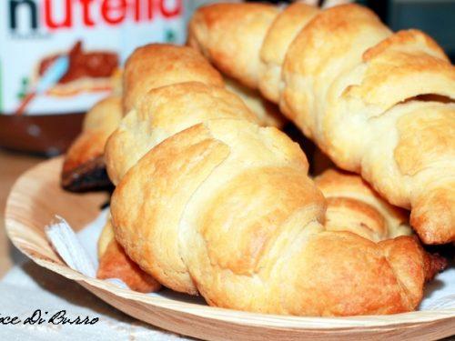 Croissant di pasta sfoglia veloce