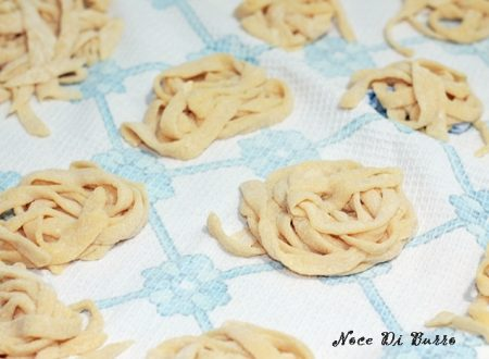 Tagliolini fatti in casa, ricetta Noce di Burro