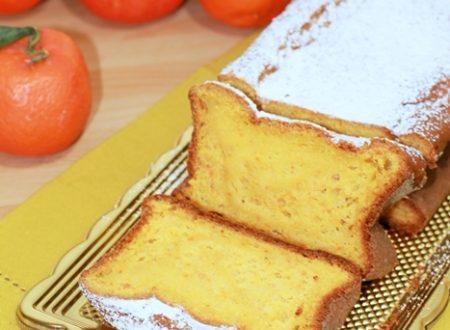 Plumcake con mandarini interi e farina di mandorle