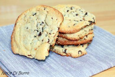 Maxi cookies con gocce di cioccolato fondente