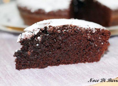 Torta al cioccolato extra fondente sempre morbida
