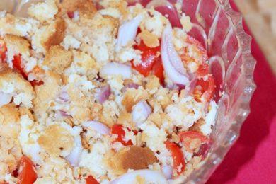 Cialledda materana, ricetta tipica lucana