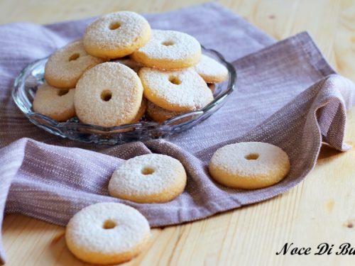 Canestrelli ricetta originale con pasta ovis mollis