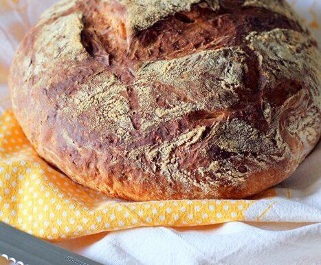Pane con farina di farro