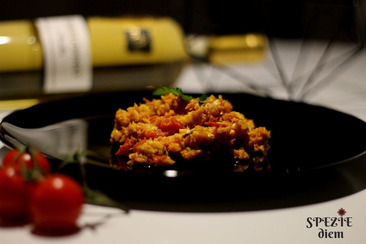 Filetto di merluzzo in padella con pomodorini spezie diem - Cucinare merluzzo surgelato ...