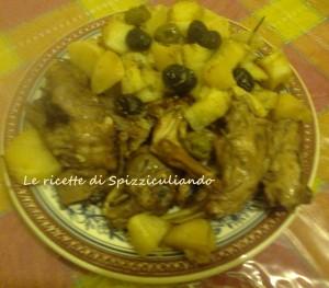 Coniglio in Umido con Vino e patate ( ricetta passo passo)