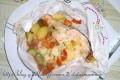Cartoccio di Salmone e verdure