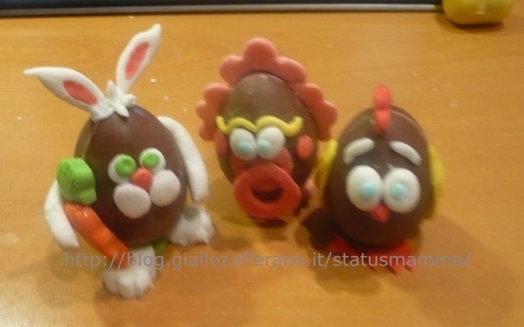 Ovetti di Pasqua idee regalo e decorazioni