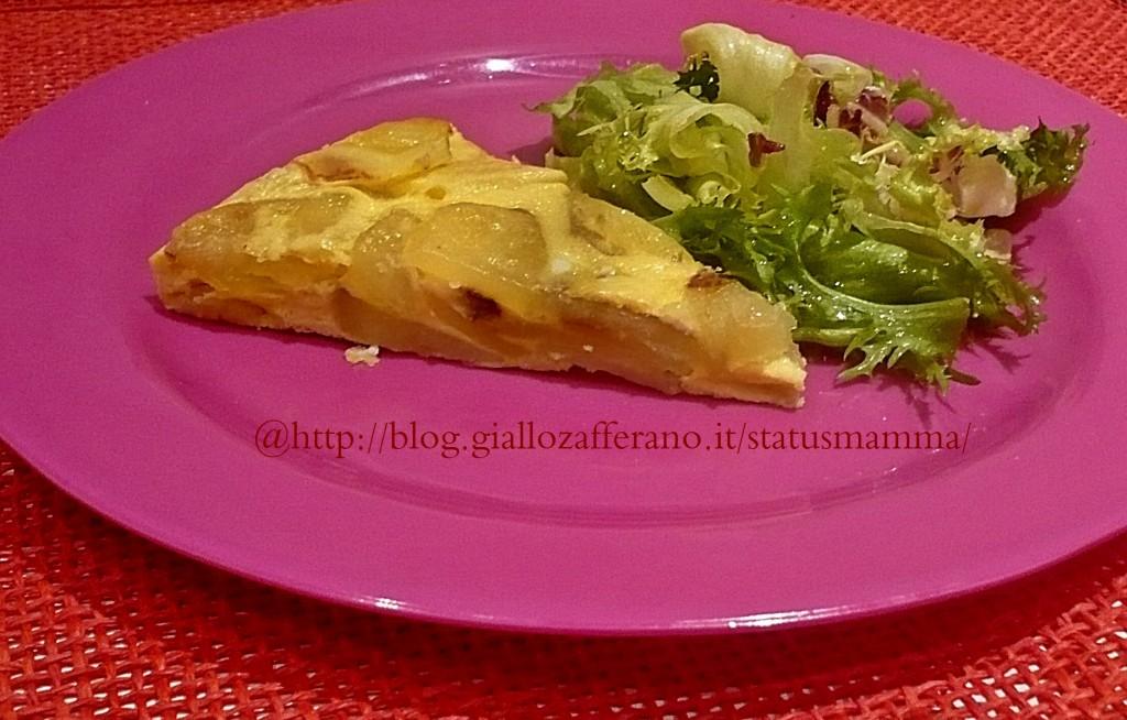 Tortilla di patate cottura al microonde for Cottura microonde