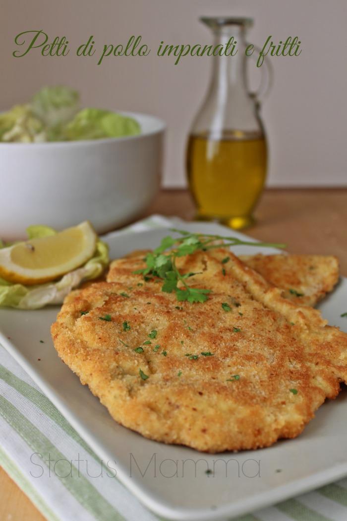Petti di pollo impanati e fritti ricetta statusmamma cucinare limone blogGz Giallozafferano foto tutorial