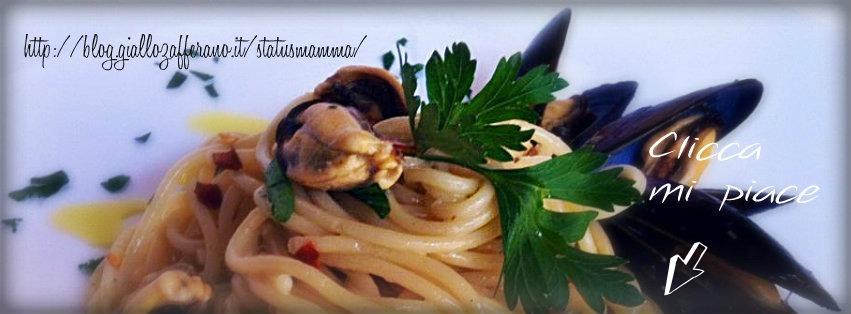 spaghetti cozze aglio olio e peperoncino status mamma ricette cucina primo foto