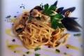 spaghetti cozze aglio olio e peperoncino