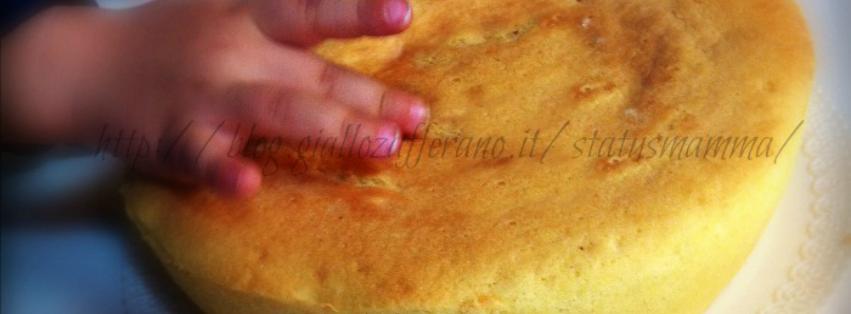 pan di spagna ricetta microonde dolci status mamma blog foto tutorial tortiera crisp