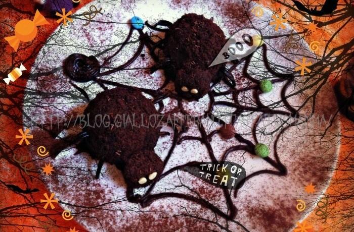 Ragni di Halloween ricetta mostruosa