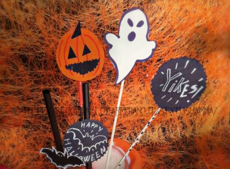 Pick di Halloween stuzzicadenti e cannucce