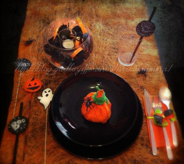 idee tavola e addobbi per halloween. Black Bedroom Furniture Sets. Home Design Ideas