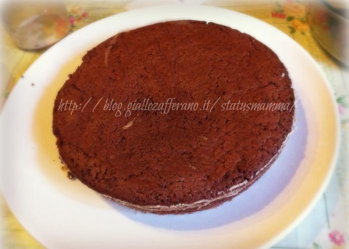 Pan di spagna al cioccolato fondente cottura microonde for Cottura microonde