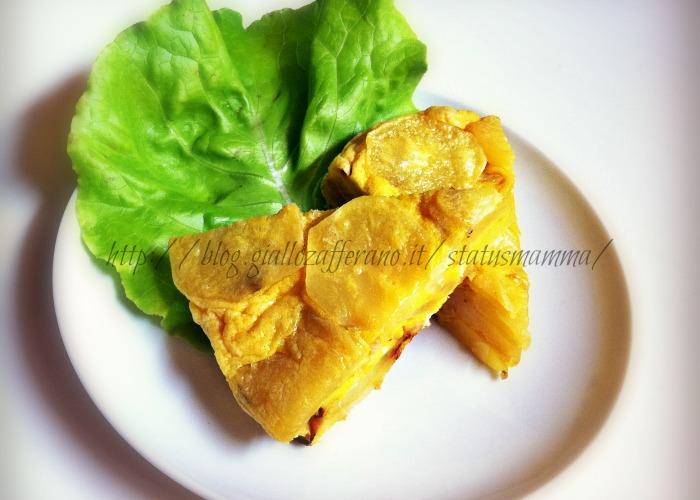 torta salata di patate ricetta per bambini statusmamma blog foto cucina ricetta veloce microonde uova