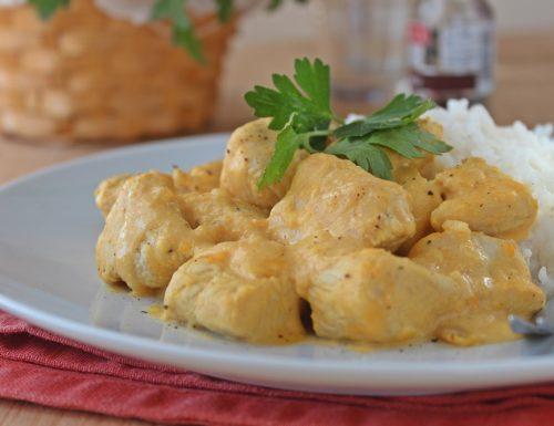 Bocconcini di tacchino  al curry ricetta semplice e veloce